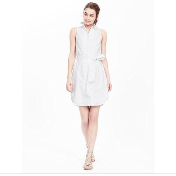 Banana Republic Dresses & Skirts - Oxford shirt dress